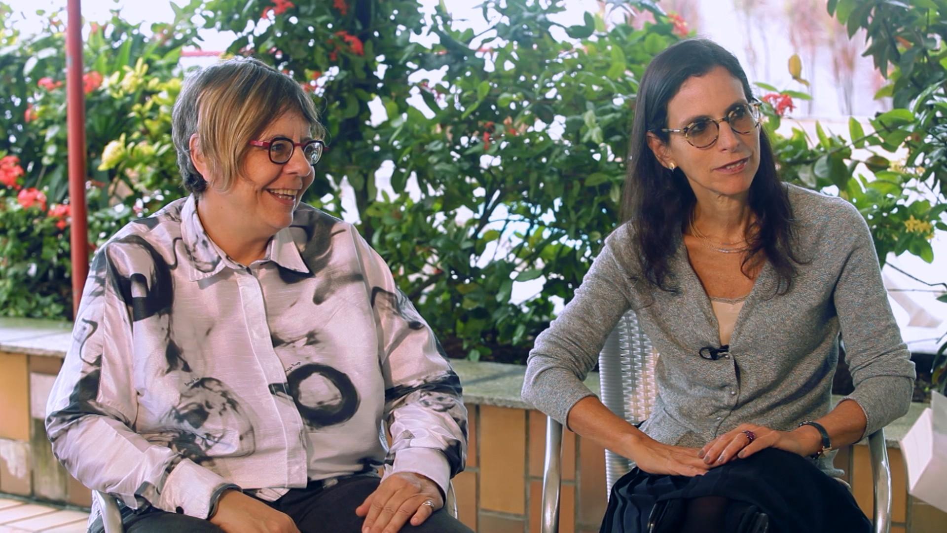 Escritoras Lilia Schwarcz e Heloisa Starling falam sobre o livro 'Brasil, uma Biografia' (Foto: Divulgação)