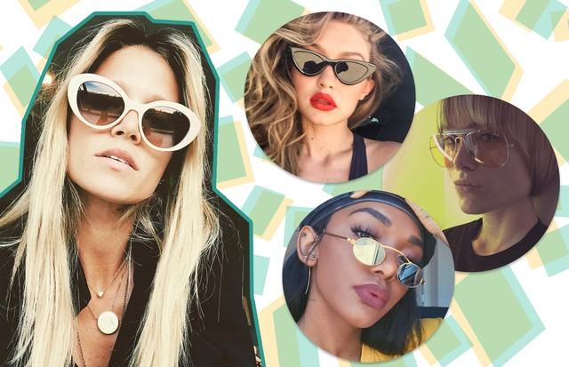 Os quatro modelos de óculos hit entre as fashionistas  (Foto: Reprodução/ Instagram)