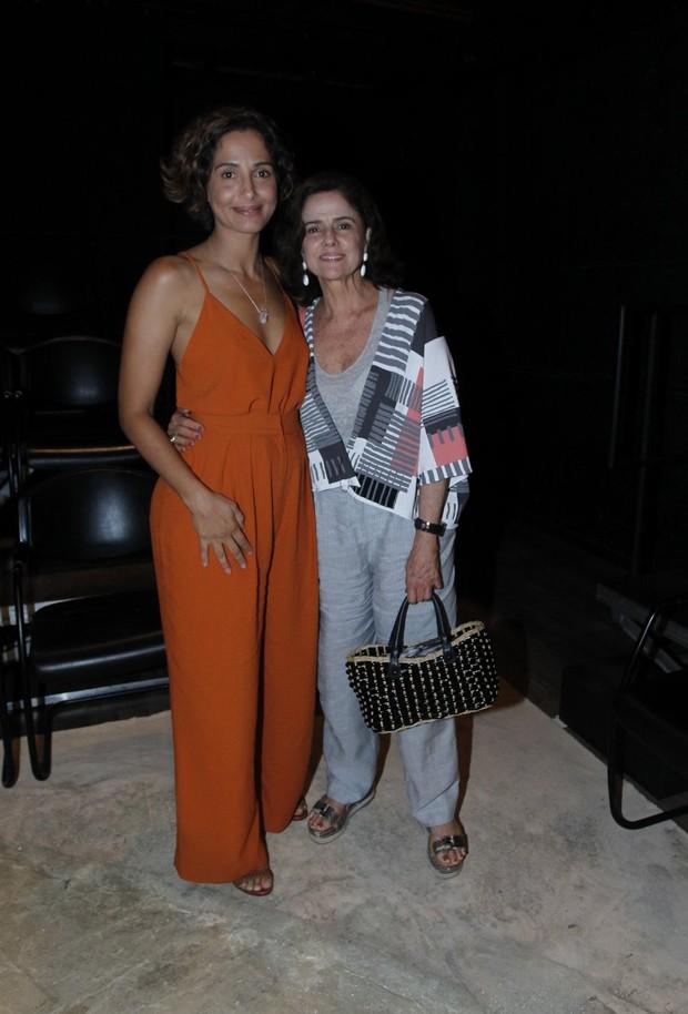 Camila Pitanga e Marieta Severo (Foto: Marcello Sá Barretto/AgNews)