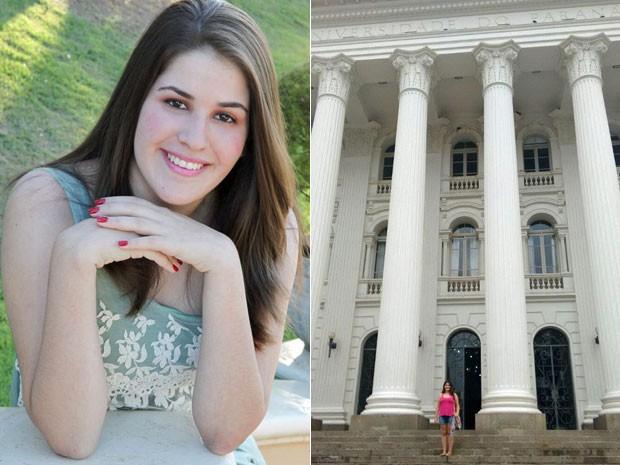 Lívia Sargi lê um livro por semana e sonha ser juíza (Foto: Arquivo pessoal/Sosana Armentano)