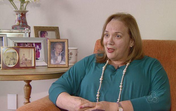 'Phelippe (Daou) foi o homem de confiança do meu pai , diz 'Maria de Lourdes Archer Pinto  (Foto: Amazonas TV)