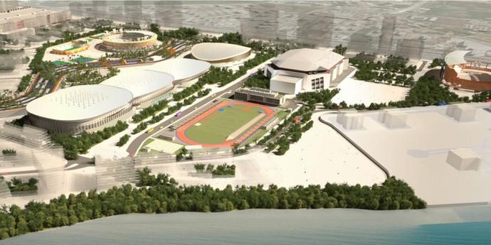 Parque Olímpico plano de legado (Foto: Prefeitura)
