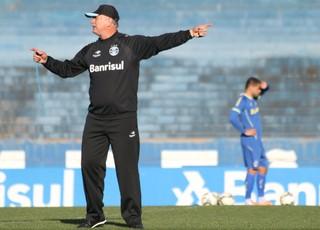Felipão treino grêmio (Foto: Eduardo Deconto/GloboEsporte.com)