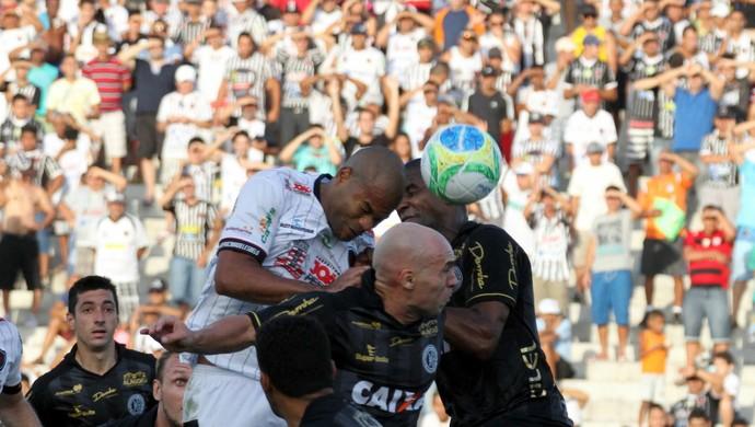 Botafogo-PB x ASA, no Almeidão (Foto: Francisco França/Jornal da Paraíba)