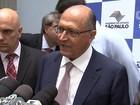 Alckmin diz que 'não há problema' em abertura de CPI da merenda