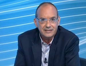 Lédio Carmona, comentarista do SporTV (Foto: Reprodução SporTV)