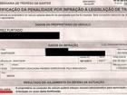 Motorista se revolta ao receber multa que desafia a física: 'Incompetência'