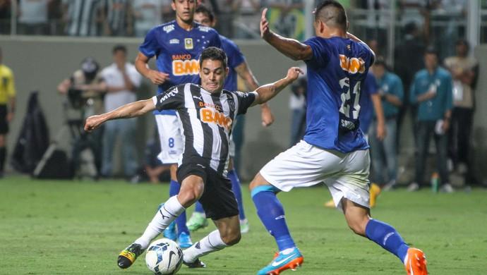Josué e Henrique, jogadores de Atlético-MG e Cruzeiro - Final da Copa do Brasil (Foto: Bruno Cantini / Flickr do Atlético-MG)