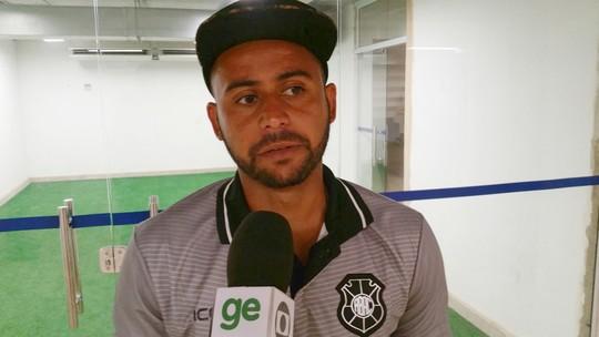 """""""Contra time grande não podemos errar"""", diz zagueiro do Rio Branco-ES"""