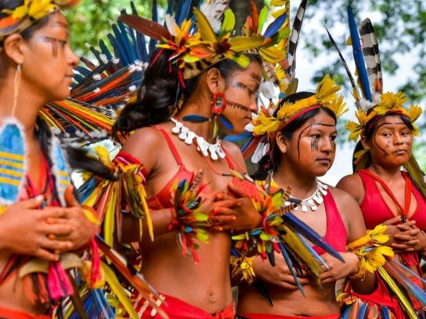 Artesanato Halloween Eva ~ G1 Encontro reúne líderes indígenas e bisneto de Roosevelt em Cuiabá notícias em Mato Grosso