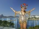 Bloco da Preta faz homenagem a Chacrinha: 'Meu ícone', diz cantora