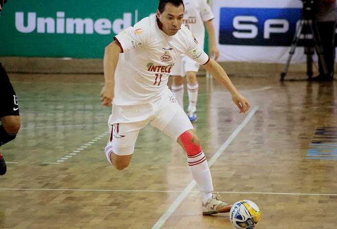 Augusto, ala do Orlândia (Foto: Márcio Damião/Orlândia Futsal)