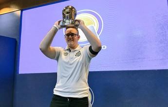 Vice-campeão mundial, representante do Santos leva o título do e-Brasileirão