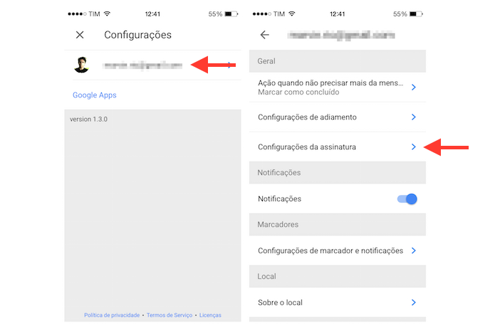 how to search for email in gmail on iphone
