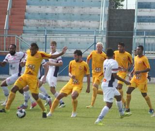 Penapolense x Atlético Sorocaba (Foto: Facebook / CA Penapolense)