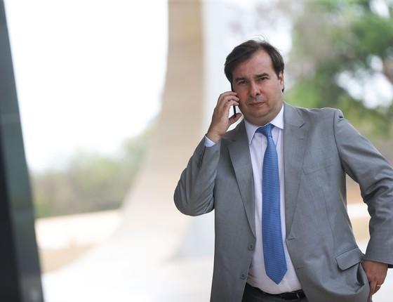 O presidente da Câmara dos Deputados, Rodrigo Maia (Foto: Marcelo Camargo/Agência Brasil)