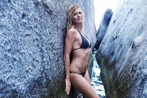 A modelo Heidi Klum (Foto: Reprodução)