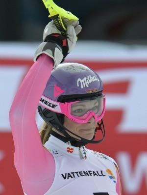 esqui alpino Maria Hoefl-Riesch Áustria (Foto: AP)
