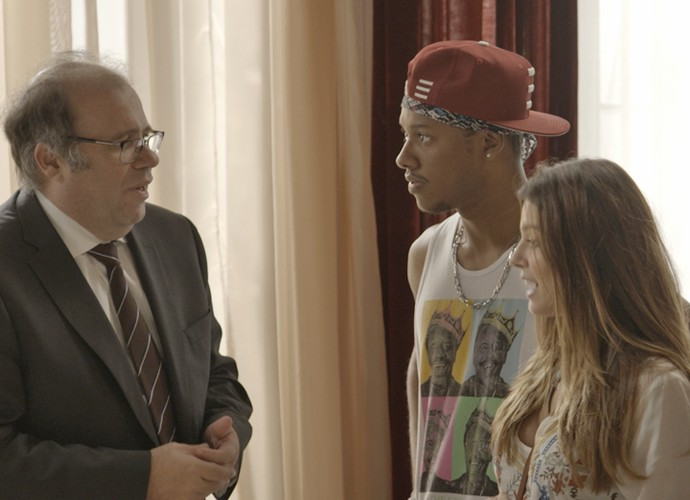 Breno pede para ir morar com a filha (Foto: TV Globo)