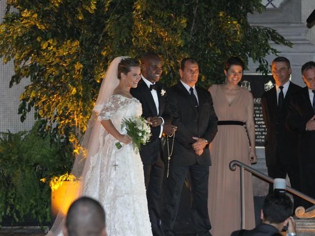 Casamento de Fernanda Souza e Thiaguinho (Foto: Paduardo/AgNews)