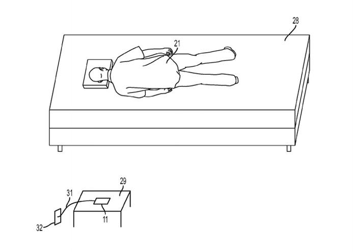 Segundo a patente da Apple, iPhone poderia reparar erros enquanto o usuário estivesse dormindo (Foto: Reprodução/United States Patent and Trademark Office)