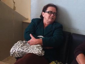 A testemunha Nilceia foi atendida na manhã desta sexta-feira (26), pelo falso médico de Espera Feliz. (Foto: Patrícia Belo / G1)