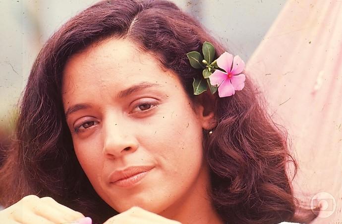 Gabriela? Não! Sônia Braga era Marcina (Foto: Cedoc/ TV Globo)