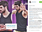 Juliano Laham, o libanês do 'BBB 16', é atacado por beijos em Munik