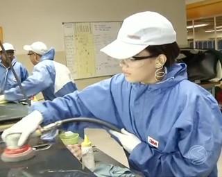 O curso técnico soma 14%  ao salário (Foto: Reprodução: RJTV 1ª Edição)
