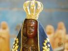 Artesão de Campanha faz imagem de santa para presentear Papa no Brasil