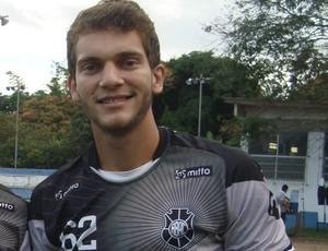 Fernando é o novo camisa 1 do Brancão (Foto: Divulgação/Rio Branco-ES)