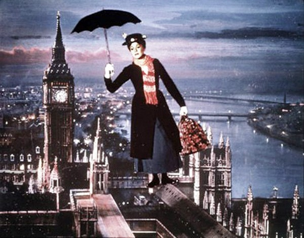 Julie Andrews em Mary Poppins (Foto: Divulgação)