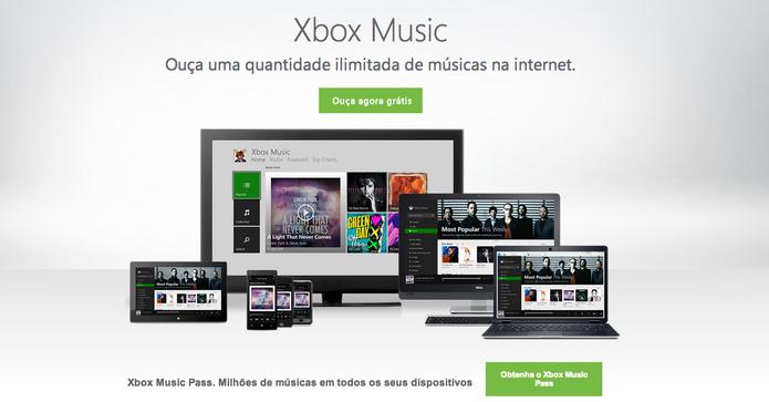 xbox music (Foto: reprodução/ TechTudo)
