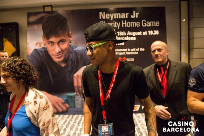 Neymar cassino Barcelona (Foto: Reprodução / Facebook)