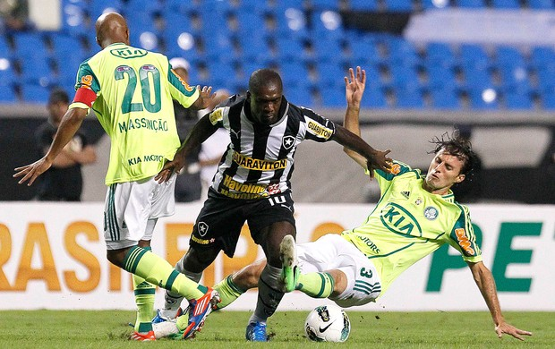 Botafogo x Palmeiras, Seedorf (Foto: Wagner Meier / AGIF)