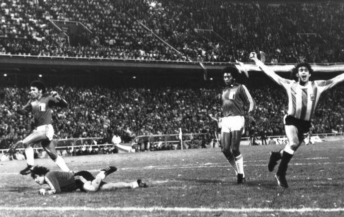 Copa do Mundo 1978 - Kempes Argentina (Foto: Agência AP )