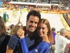 Marina Ruy Barbosa e mais torcem para o Brasil na final do vôlei de praia