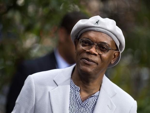 Samuel L. Jackson em première em Los Angeles, nos Estados Unidos (Foto: Valerie Macon/ AFP)