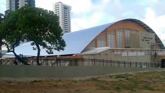 Ginásio do DED - Marcelo de Carvalho - Natal (Foto: Divulgação/Codesp)