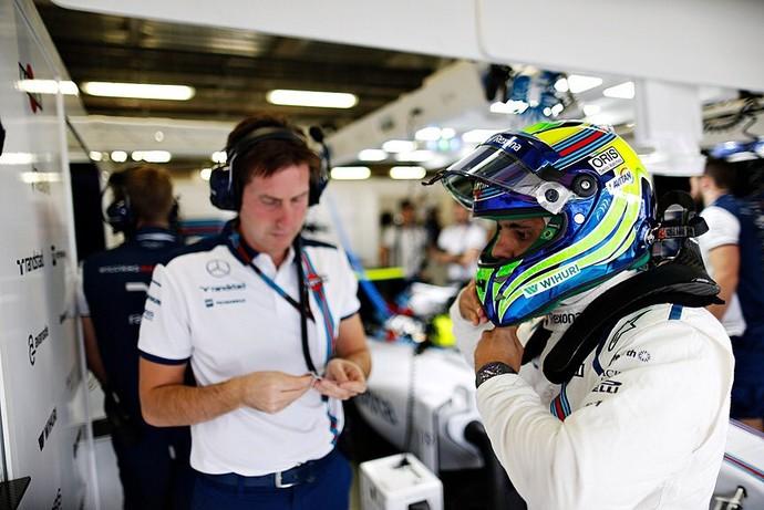 Em dia discreto da Williams, Felipe Massa fez o décimo melhor tempo no segundo treino (Foto: Divulgação)