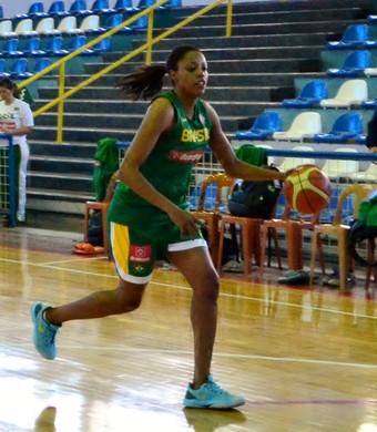 Karina Jacob seleção feminina de basquete (Foto: Danilo Sardinha/GloboEsporte.com)