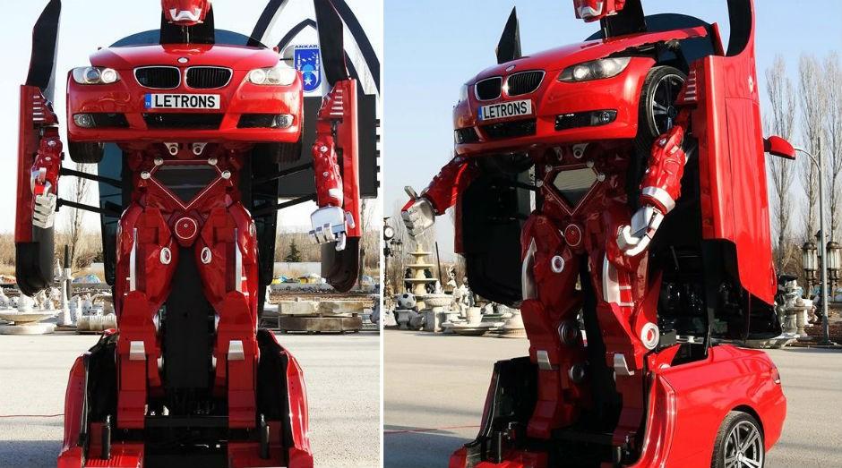 Protótipo de Transformer da vida real desenvolvido pela empresa turca. (Foto: Divulgação)