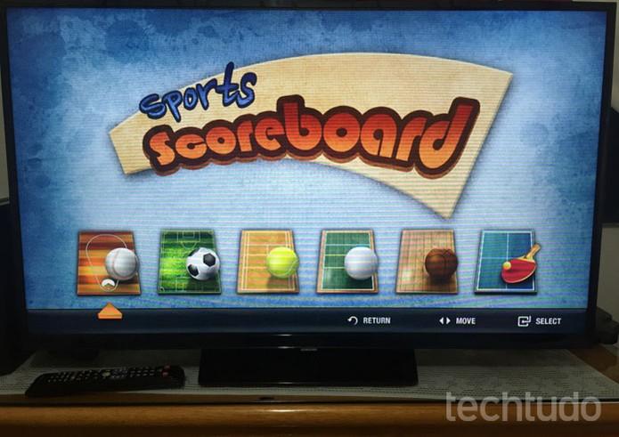 Aprenda a baixar apps em uma Smart TV da Samsung (Foto: Lucas Mendes/TechTudo)