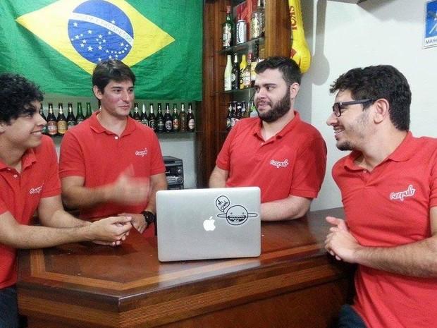 Amigos que se conheceram no ES criaram a plataforma (Foto: Divulgação / Reepub)