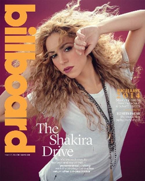 Shakira (Foto: Revista/Reprodução)