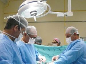 Transplante foi realizado na quinta (Foto: Hospital Santa Isabel/Divulgação)