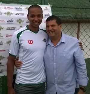 Douglas Assis, Cabofriense (Foto: Juan Andrade/ GloboEsporte.com)