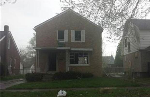 Casa em Detroit (EUA), de 223 m² e três quartos, que pode ser trocada por iPhone 6 ou iPhone 6 Plus. (Foto: Divulgação/Zillow.com)