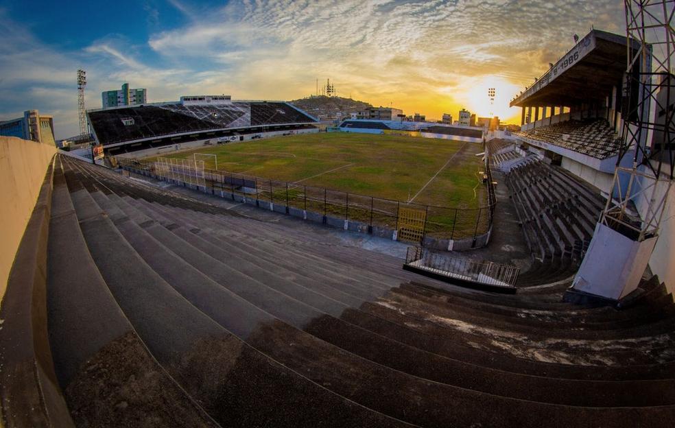 Estádio Lacerdão (Foto: Renan Vasconcelos / Central Sport Club)