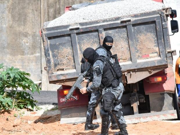 Segundo a Sejuc, pavilhão 5 vai passar por reforma  (Foto: Fred Carvalho/G1)